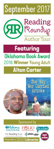 Alton Carter bookmarks - 4 up