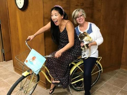 Judy and Cynthea go for a ride!